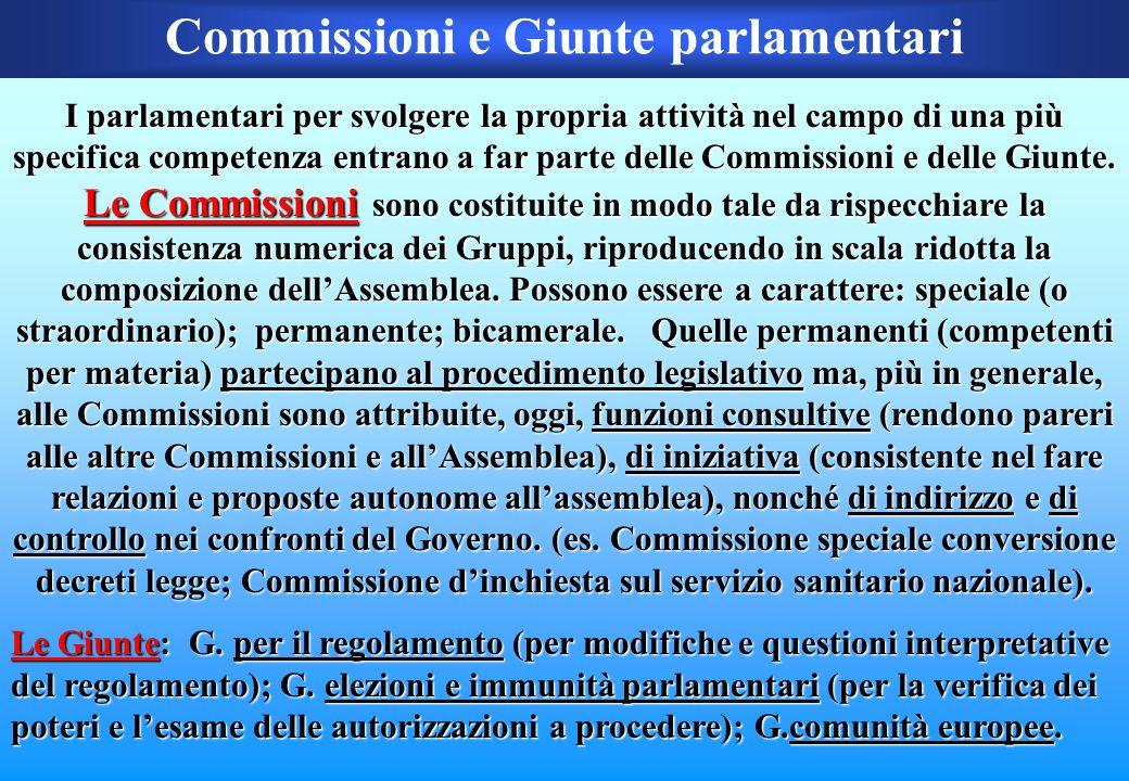 I gruppi parlamentari Alleanza Nazionale47 Democratici di Sinistra - l'Ulivo63 Forza Italia79 Lega Padana17 Margherita - DL - L'Ulivo35 Per le Autonom