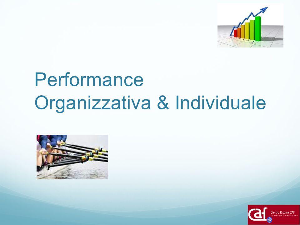 Performance Organizzativa & Individuale