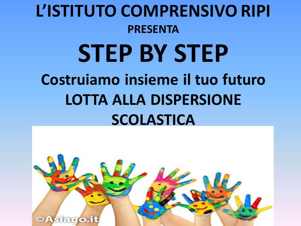 PROGETTO Il progetto è stato presentato dall'I.C.di Ripi ( Scuola capofila) finanziato dall'U.S.P.