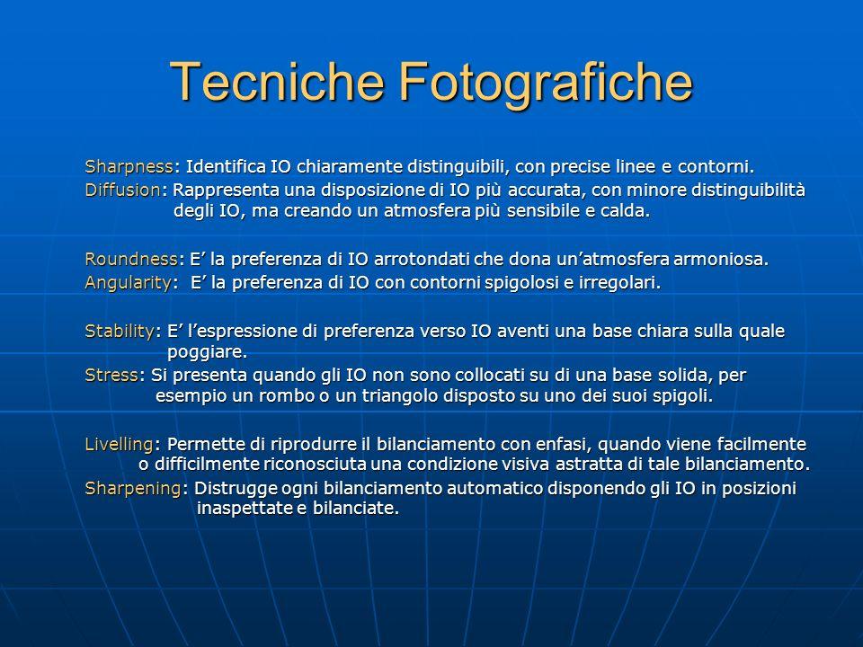 Tecniche Fotografiche Sharpness: Identifica IO chiaramente distinguibili, con precise linee e contorni.