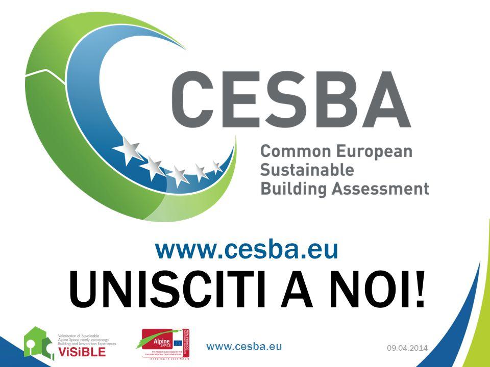 www.cesba.eu UNISCITI A NOI! www.cesba.eu 09.04.2014