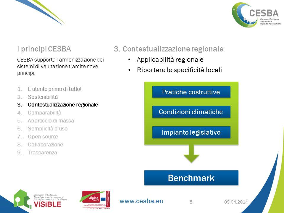 www.cesba.eu i principi CESBA 3.
