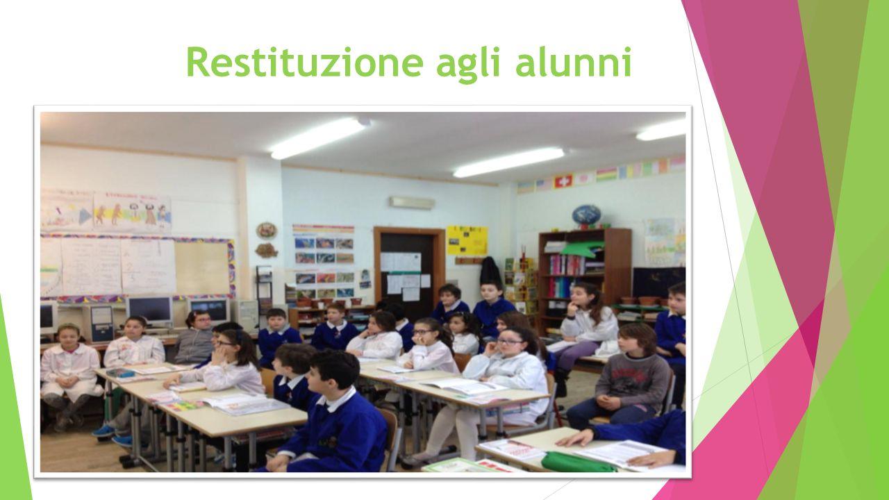 Restituzione agli alunni