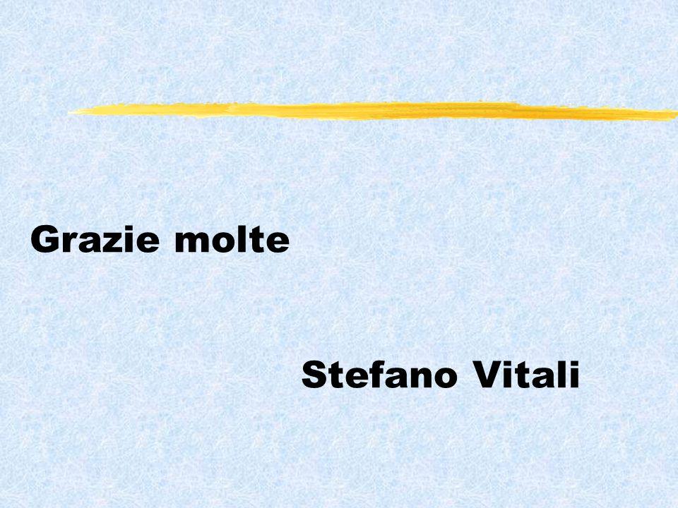 Grazie molte Stefano Vitali