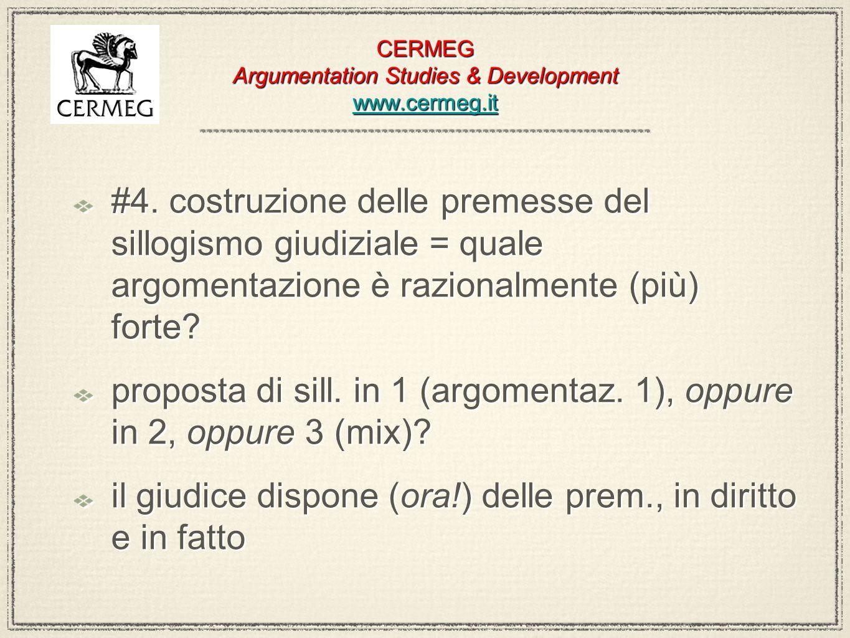 CERMEG Argumentation Studies & Development www.cermeg.it www.cermeg.it CERMEG Argumentation Studies & Development www.cermeg.it www.cermeg.it #4. cost