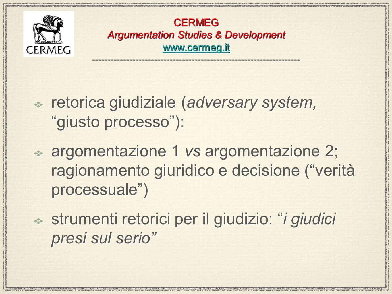 CERMEG Argumentation Studies & Development www.cermeg.it www.cermeg.it CERMEG Argumentation Studies & Development www.cermeg.it www.cermeg.it retorica