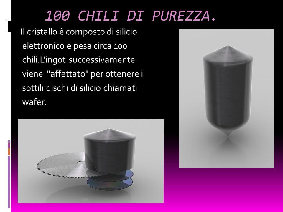 100 CHILI DI PUREZZA.