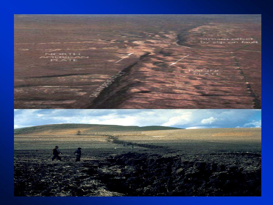 Quando sforzi di origine tettonica tendono a spostare le strutture geologiche le masse rocciose si comportano in modo elastico e si deformano progressivamente.