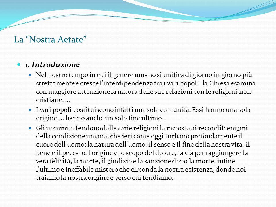 La Nostra Aetate 3.