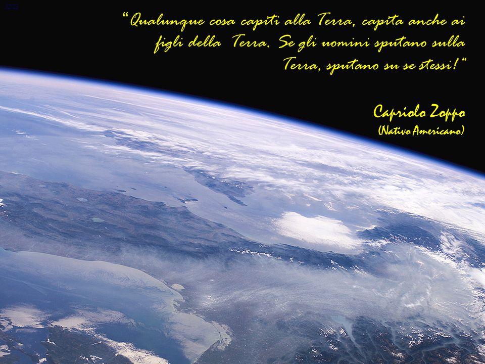 12/23 Qualunque cosa capiti alla Terra, capita anche ai figli della Terra.
