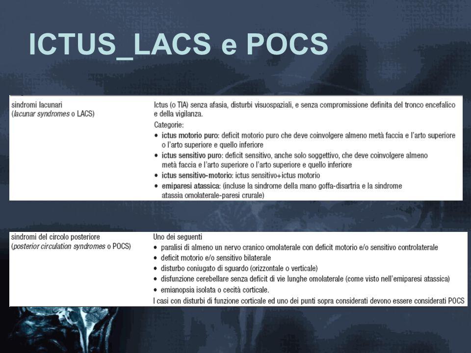 ICTUS_LACS e POCS