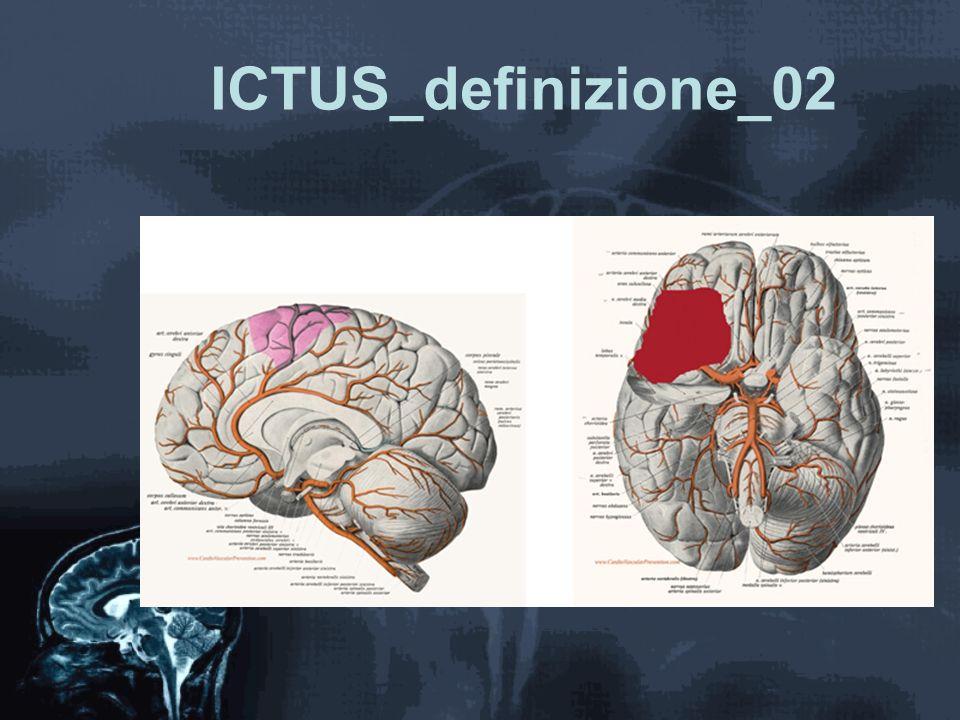 ICTUS_problemi_circolazione Pressione arteriosa: –Ipertensione arteriosa legata all'ictus –Ipertensiona arteriosa preesistente –Ipotensine arteriosa Da emorragia gastroenterica Da infarto Da embolia polmonare