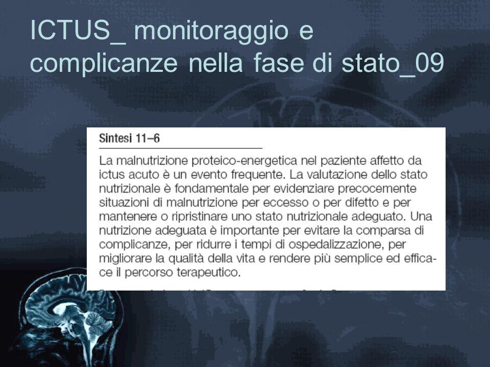 ICTUS_ monitoraggio e complicanze nella fase di stato_09