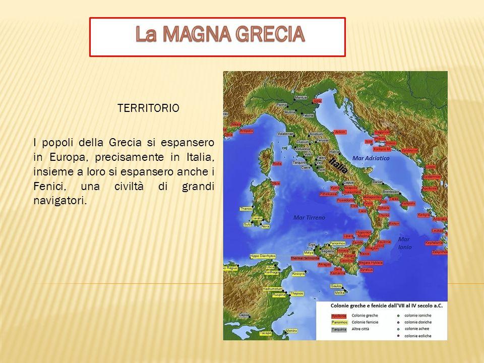 Nel corso dell VII secolo a.C., navi cariche di uomini, donne, animali, aratri e oggetti preziosi si spostarono verso il Mediterraneo e il mar Nero perchè il territorio da loro abitato, la Grecia, era limitato e il terreno coltivabile era scarseggiante.