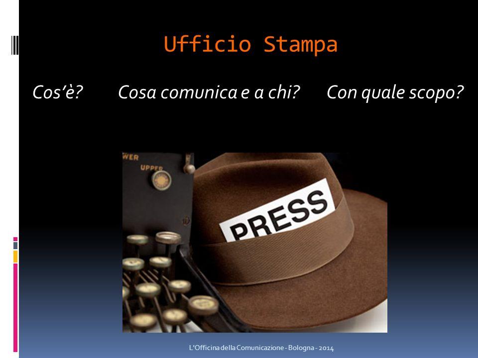 Ufficio Stampa Cos'è. Cosa comunica e a chi. Con quale scopo.