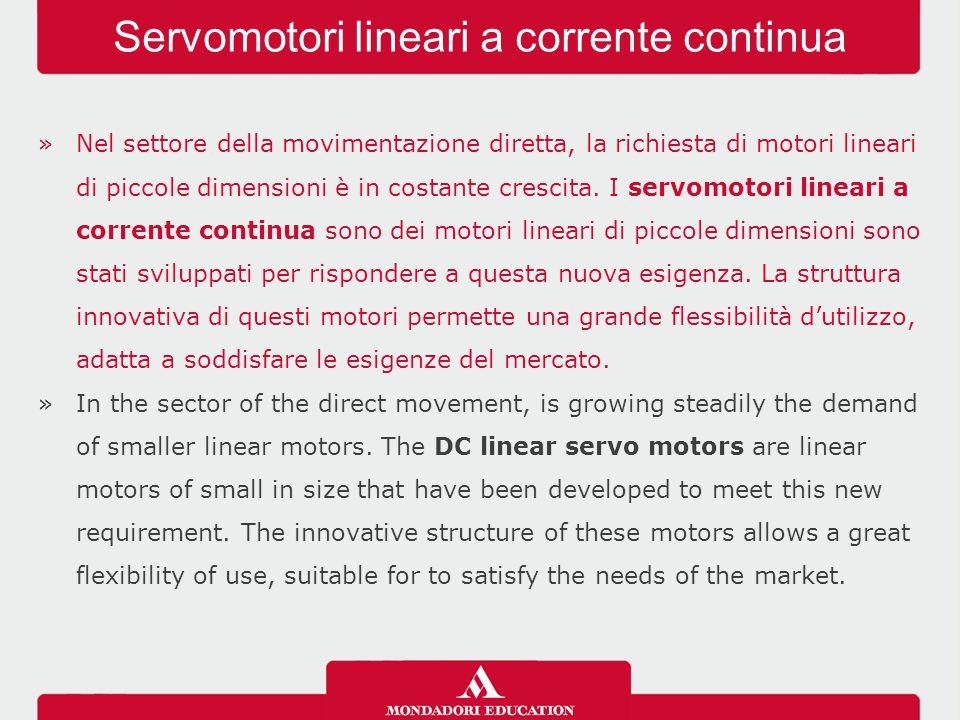 »Nel settore della movimentazione diretta, la richiesta di motori lineari di piccole dimensioni è in costante crescita.