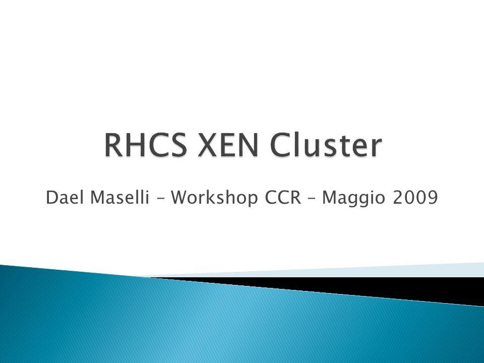 Dael Maselli – Workshop CCR – Maggio 2009