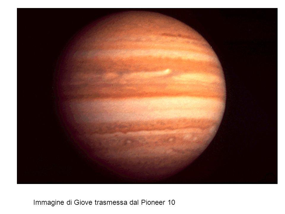 Immagine di Giove trasmessa dal Pioneer 10