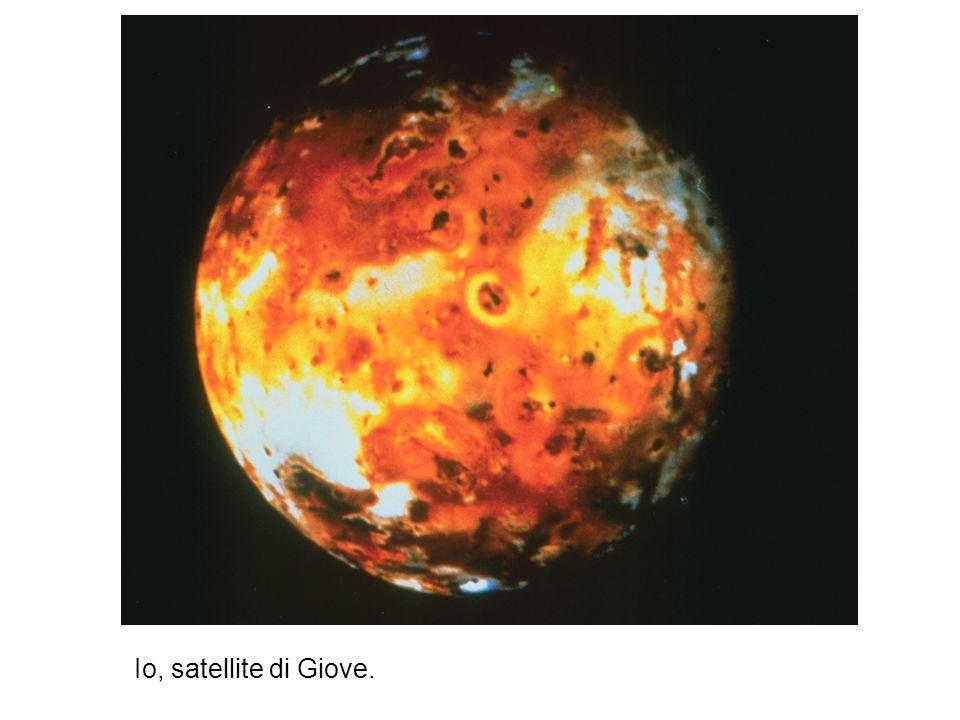 Io, satellite di Giove.