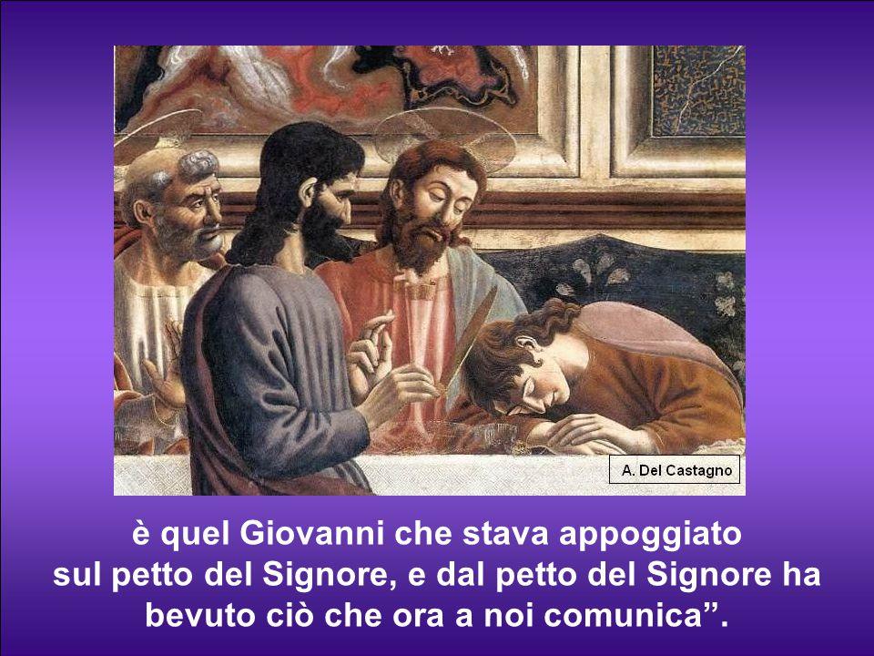 Perciò Sant'Agostino scrisse: Colui che ha detto queste cose, le ha ricevute a sua volta: