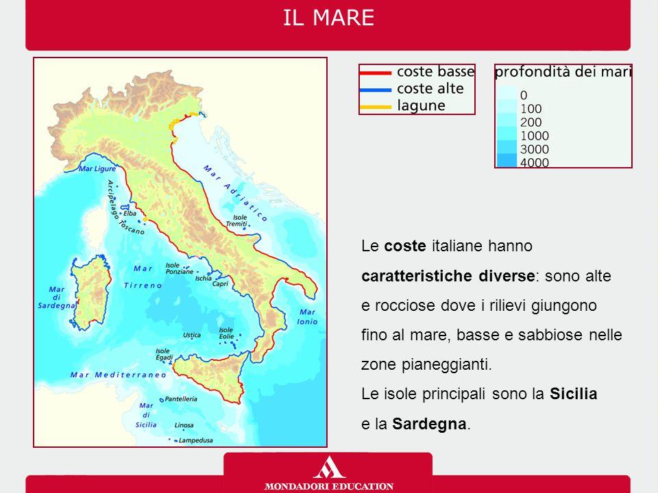 I faraglioni sono un gruppo di scogli antistanti l'isola di Capri, nel Mar Tirreno. IL MARE