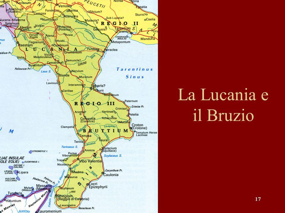 17 La Lucania e il Bruzio