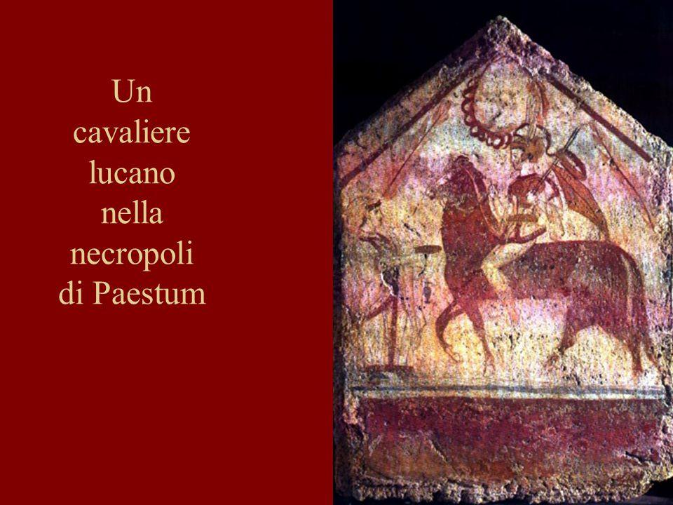 20 Un cavaliere lucano nella necropoli di Paestum