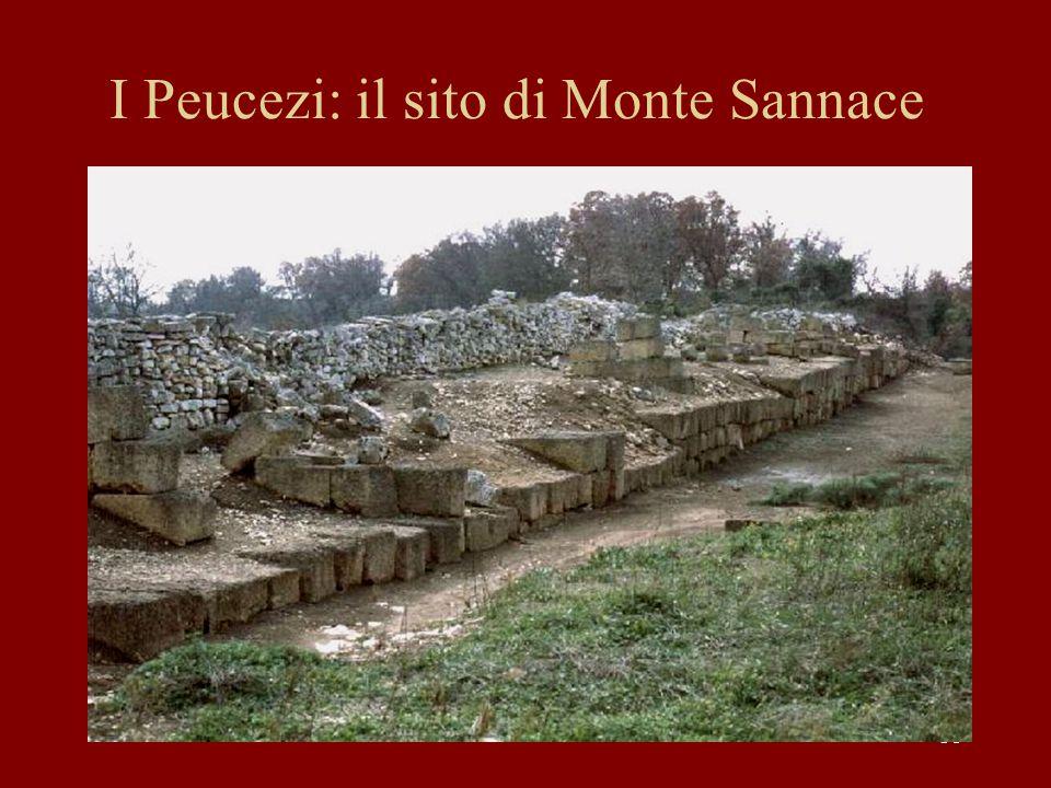 38 I Peucezi: il sito di Monte Sannace