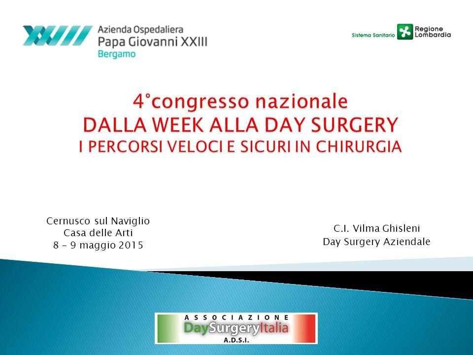 Cernusco sul Naviglio Casa delle Arti 8 – 9 maggio 2015 C.I. Vilma Ghisleni Day Surgery Aziendale