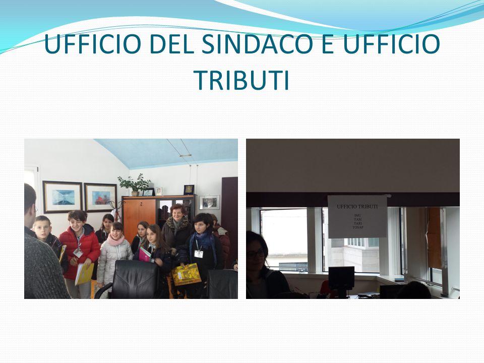 UFFICIO DEL SINDACO E UFFICIO TRIBUTI