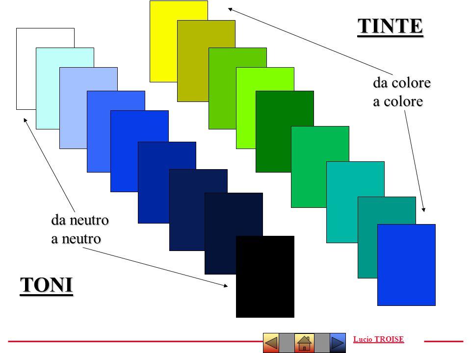Lucio TROISETINTE TONI da neutro a neutro da colore a colore