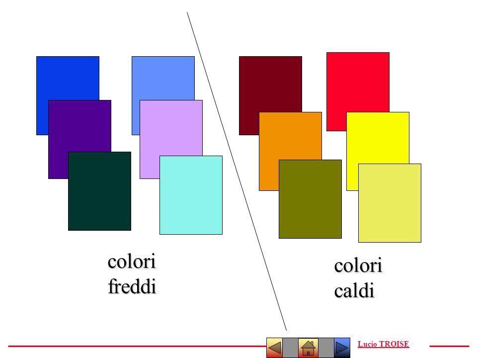 Lucio TROISEcolorifreddi coloricaldi
