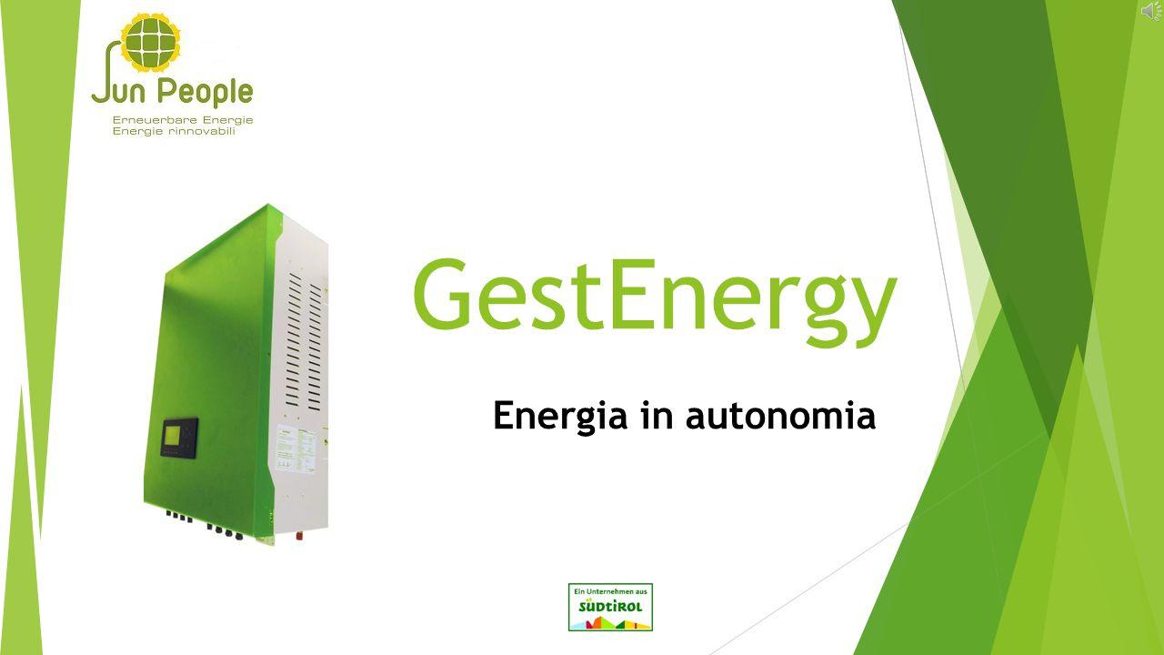 GestEnergy Energia in autonomia