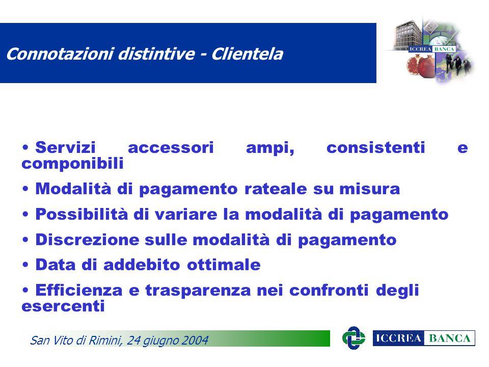 Obiettivi quantitativi 2004 San Vito di Rimini, 24 giugno 2004 Obiettivo totale 150.000 carte Emissione/Sostituzione