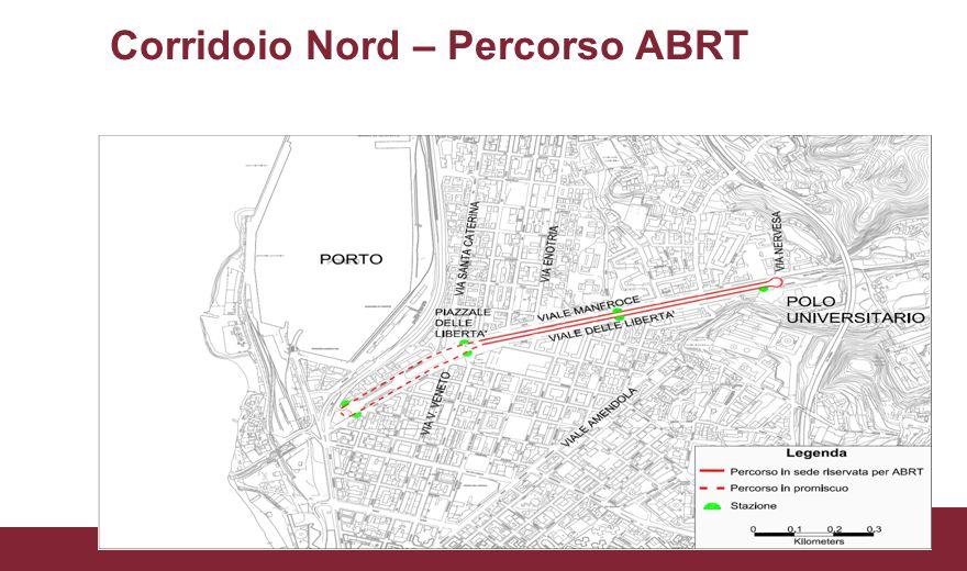 Corridoio Nord – Percorso ABRT