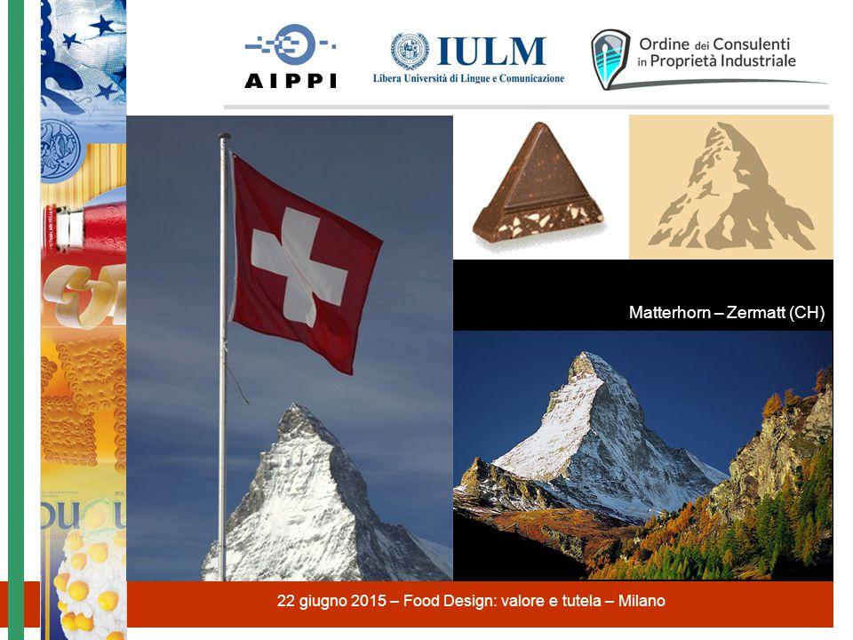 22 giugno 2015 – Food Design: valore e tutela – Milano Matterhorn – Zermatt (CH)