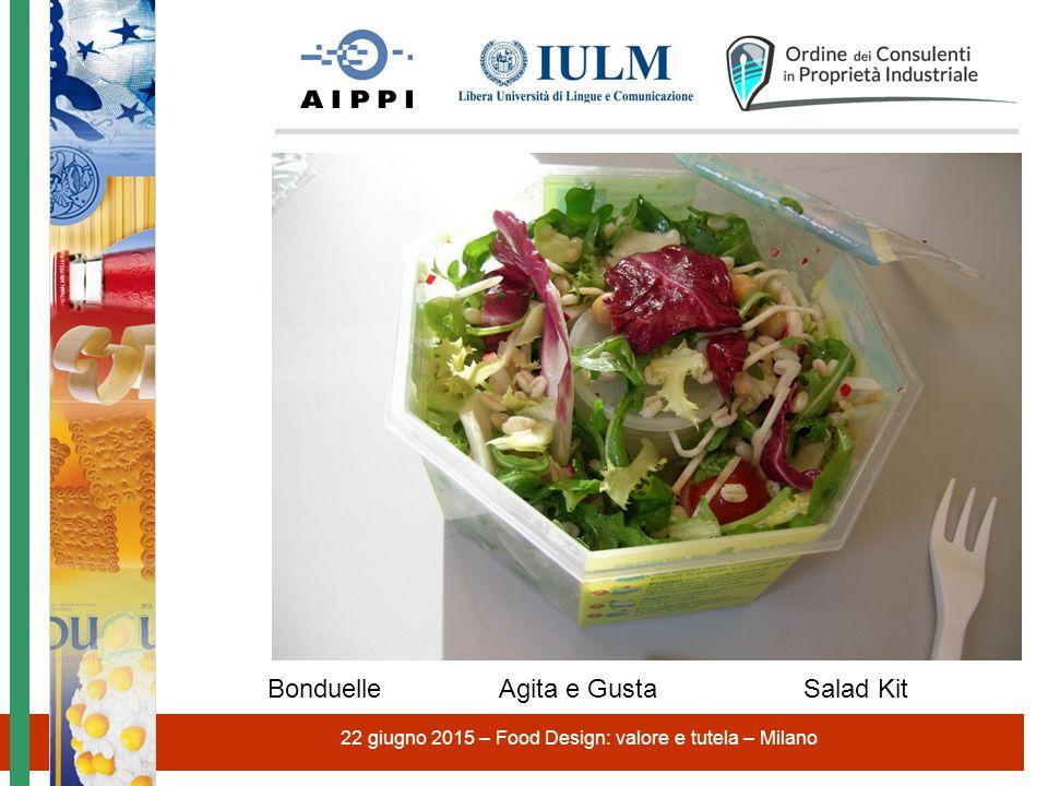 22 giugno 2015 – Food Design: valore e tutela – Milano Bonduelle Agita e Gusta Salad Kit