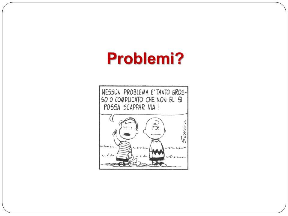 Problemi?