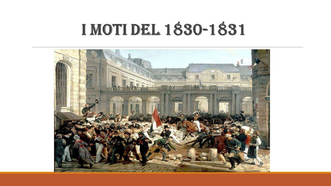 Il moto della Grecia andato a buon fine Solo in Grecia l insurrezione nazionale contro i turchi, scoppiata nel marzo 1821 e sostenuta dalla Russia, conseguì un significativo risultato, proprio perché fu nazionale e popolare.