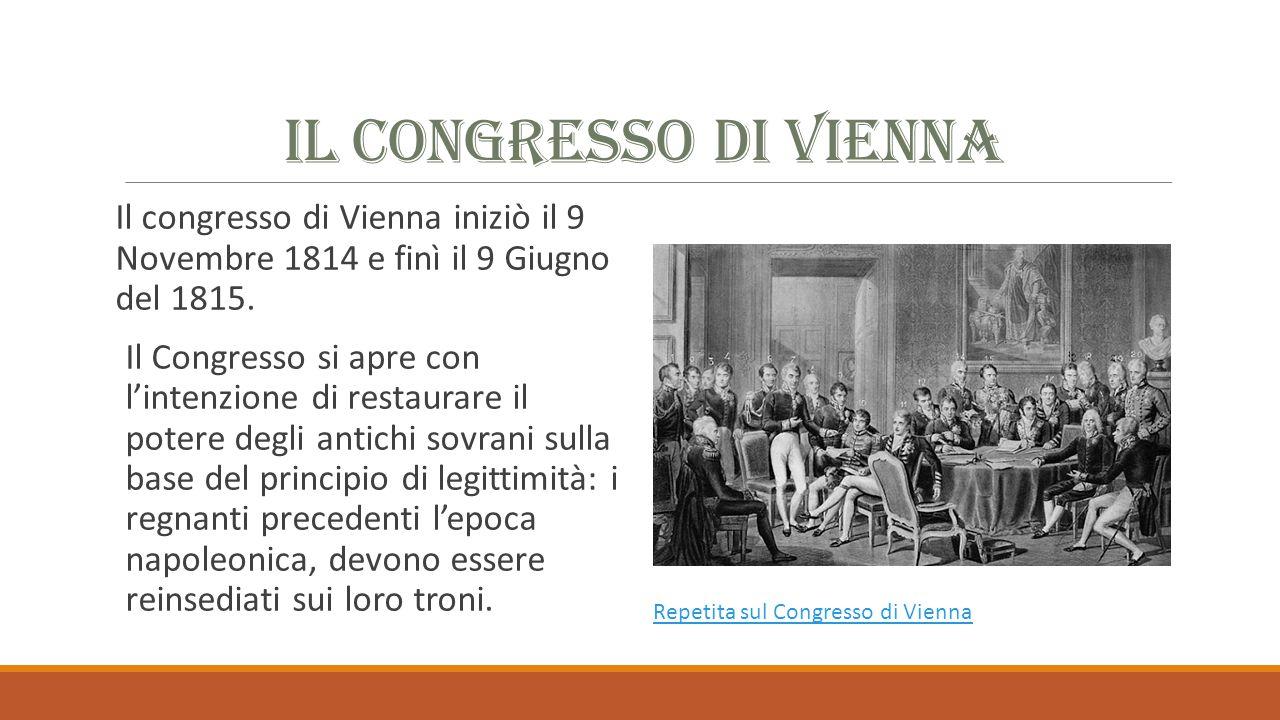Sud Italia Nel luglio 1820 scoppiò una rivolta nel Regno delle Due Sicilie, sempre in ambito militare.