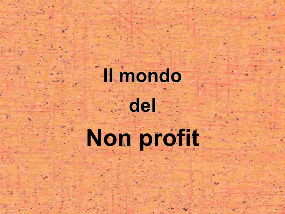 Il mondo del Non profit