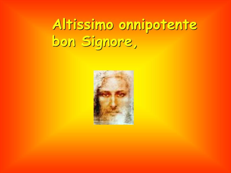 Beati quelli che l'sosterranno in pace ca da Te Altissimo, sirano incoronati.