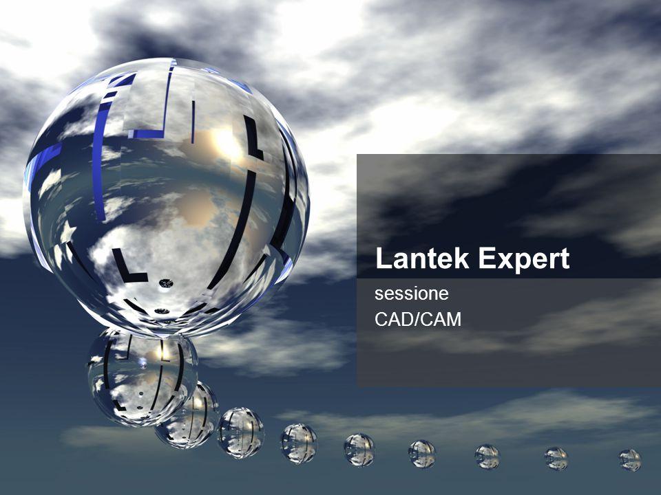 Lantek Expert sessione CAD/CAM