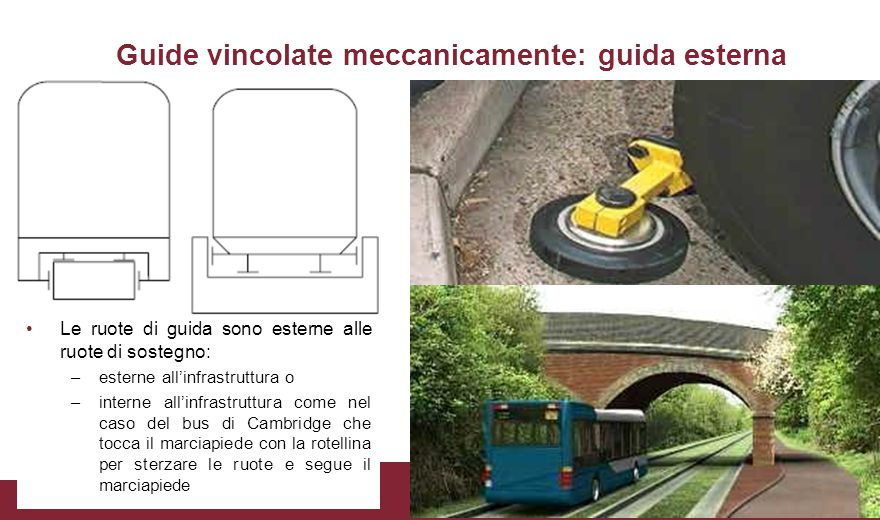 Altri esempi (1/3) Guided busway