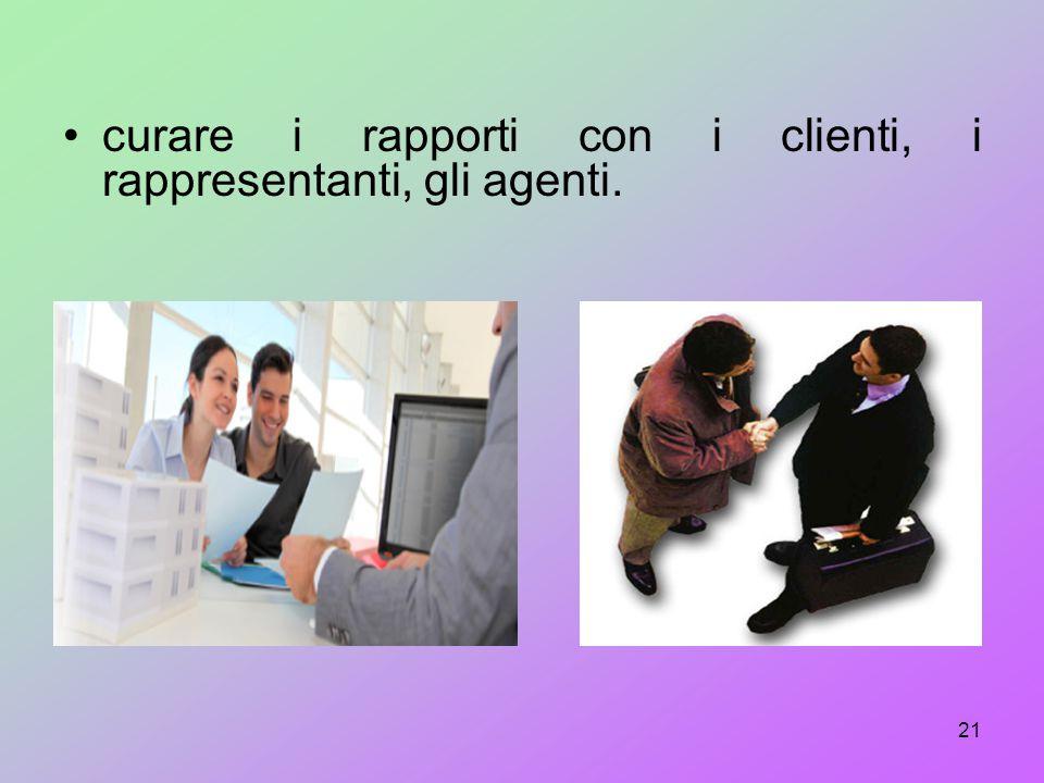 collaborare con le varie figure che, a livelli gerarchici diversi, operano all'interno di un'azienda, proponendo obiettivi, programmando e controlland