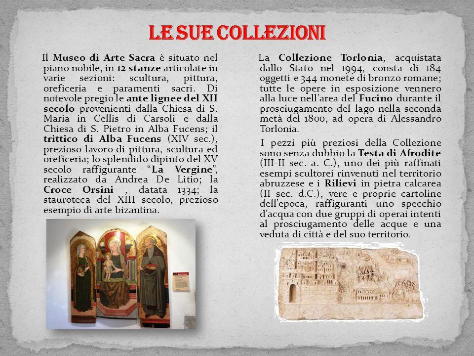 Il Museo di Arte Sacra è situato nel piano nobile, in 12 stanze articolate in varie sezioni: scultura, pittura, oreficeria e paramenti sacri. Di notev