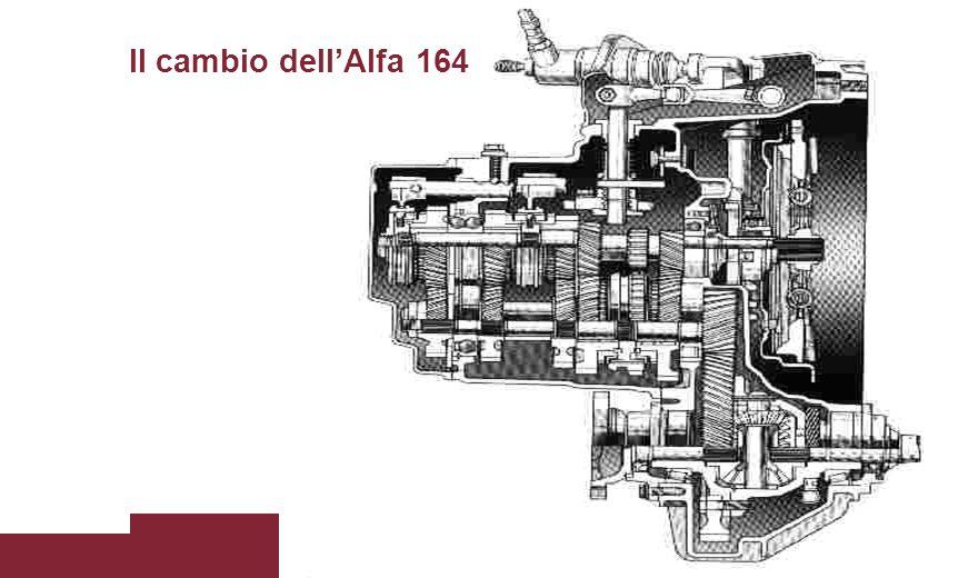 Il cambio dell'Alfa 164
