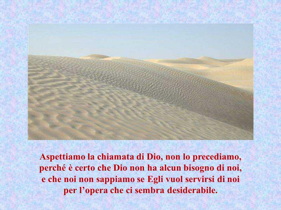 G esù non è presente solo in Terra Santa. La Terra Santa è là dove è la volontà di Dio.