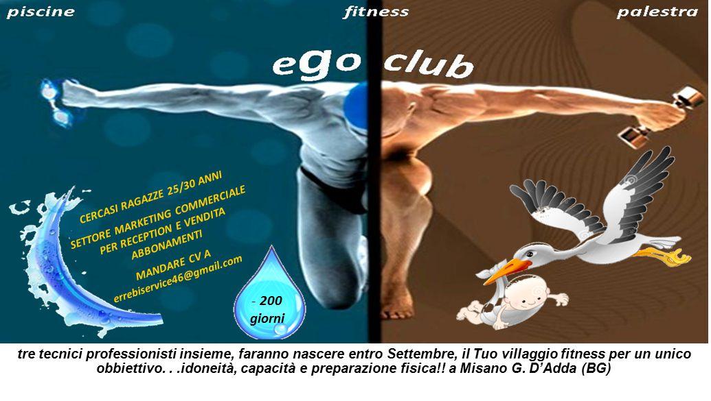 tre tecnici professionisti insieme, faranno nascere entro Settembre, il Tuo villaggio fitness per un unico obbiettivo...idoneità, capacità e preparazione fisica!.