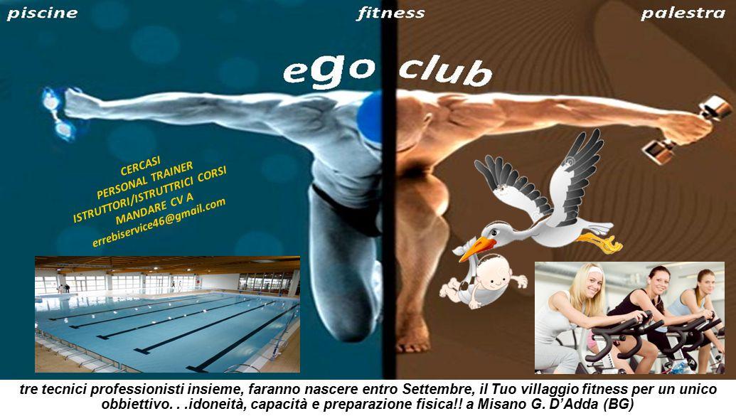 piscinefitnesspalestra tre tecnici professionisti insieme, faranno nascere entro Settembre, il Tuo villaggio fitness per un unico obbiettivo...idoneità, capacità e preparazione fisica!.
